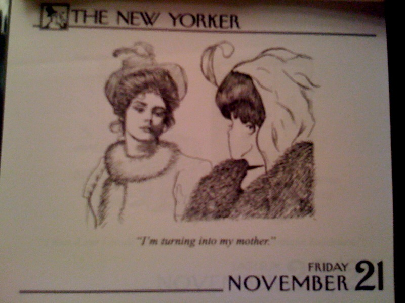 Funny New Yorker comic o' the day
