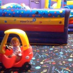 Enjoying Pump It Up with the dot