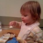 She likes sushi (and bananas)!