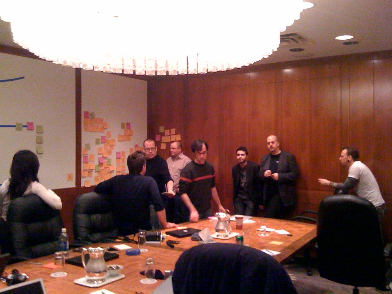 The IxDA Board envisions our goals #ixd09