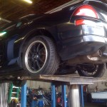 Mama's upgrading her exhaust
