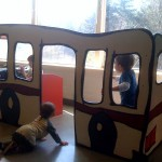 Enjoying the Children's Museum with @skyslug and her 2 kids