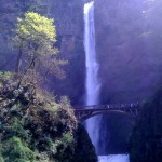 "Multnomah Falls, the US's ""second-highest year-round waterfall"""