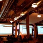First presenter kicks off the IxDA San Francisco ProtoFarm event