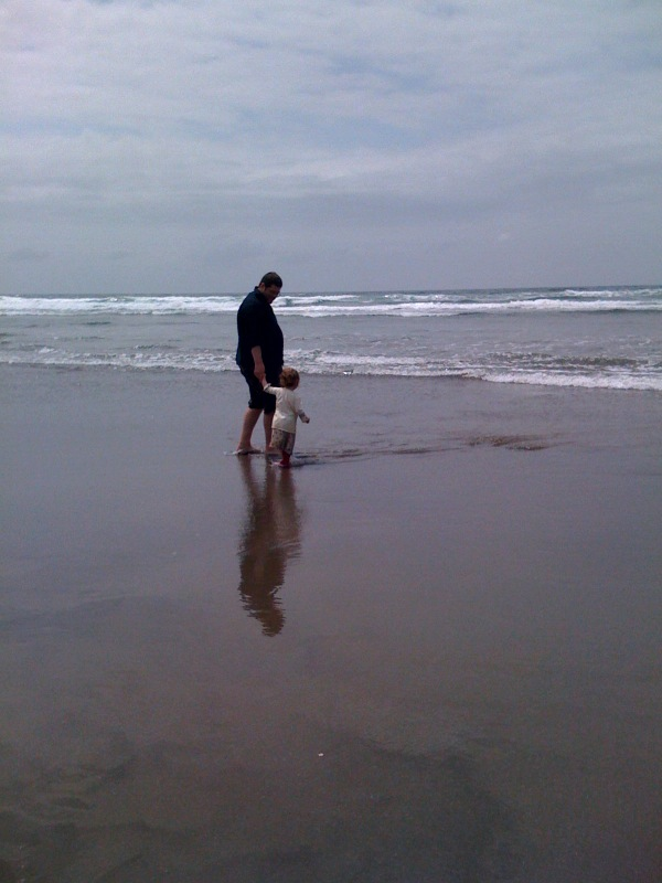 Experiencing the ebb and flow at Nye Beach in Newport OR