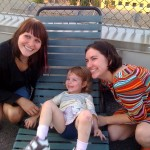 E with two generations of Au Pairs: one lucky girl!