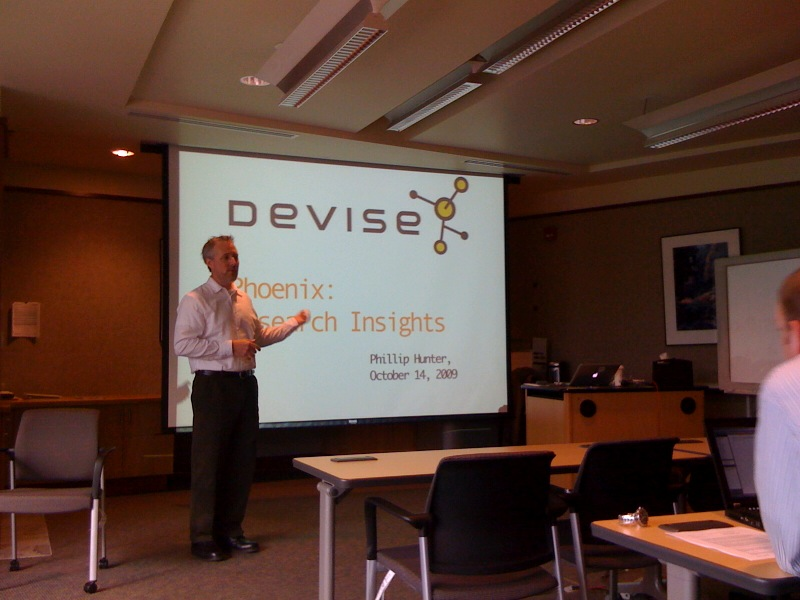 The Devise team is on fire! Here's @designoutloud presenting the other day