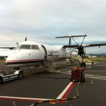 Turboprop to Seattle for project kickoff meetings at Fluke