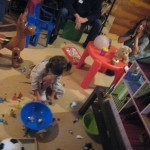 Doubtless one too many pictures of Evelyn's 4th Birthday party