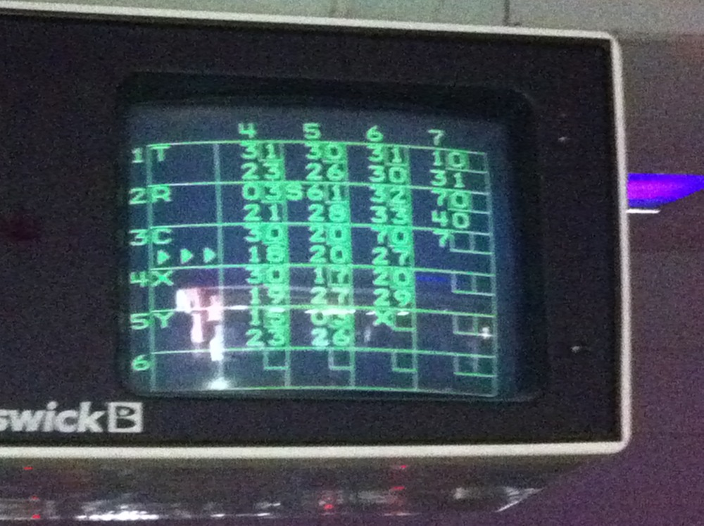 Another lame-ass bowling alley interface