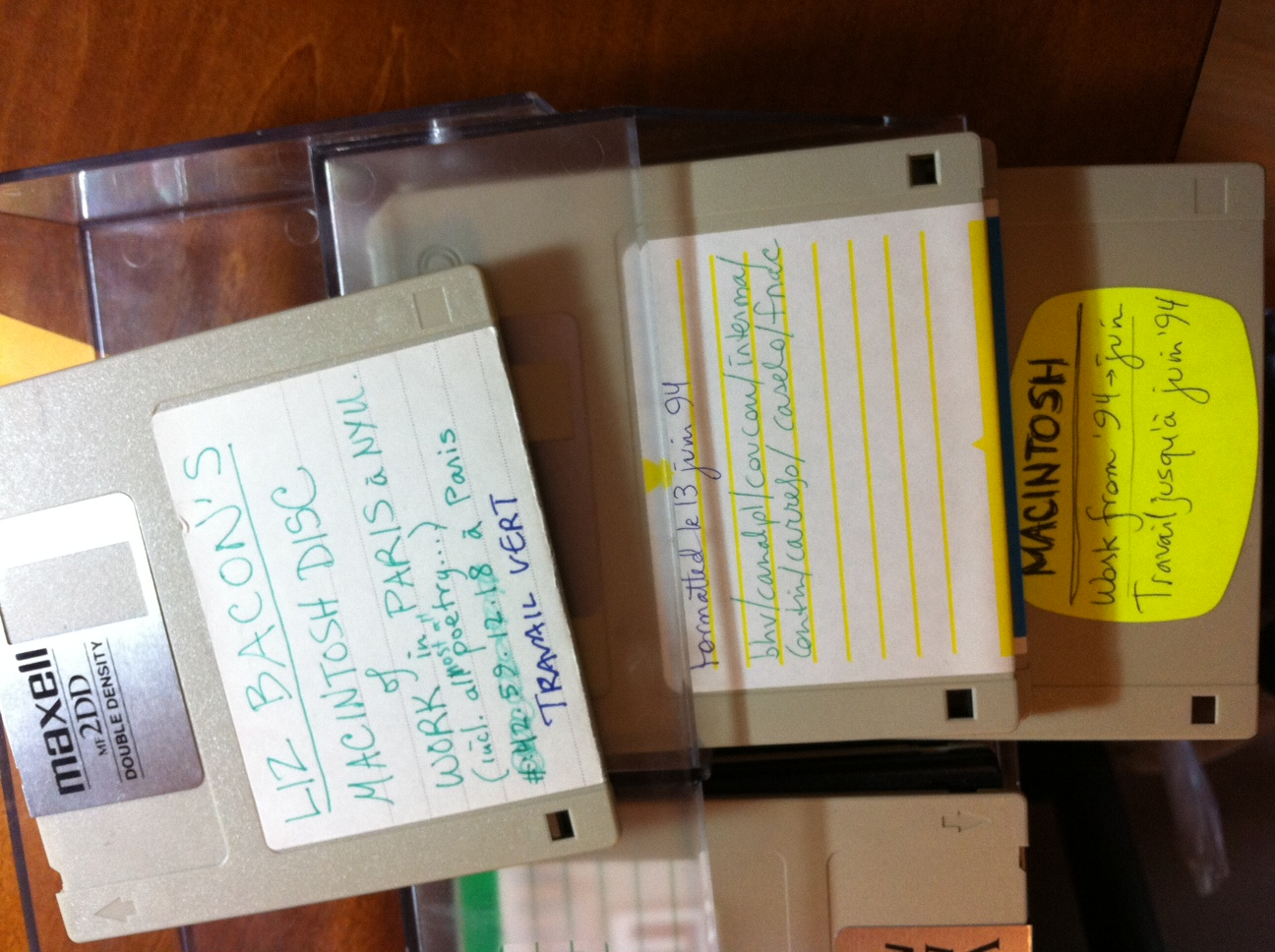 What do you do with floppies from 1994?