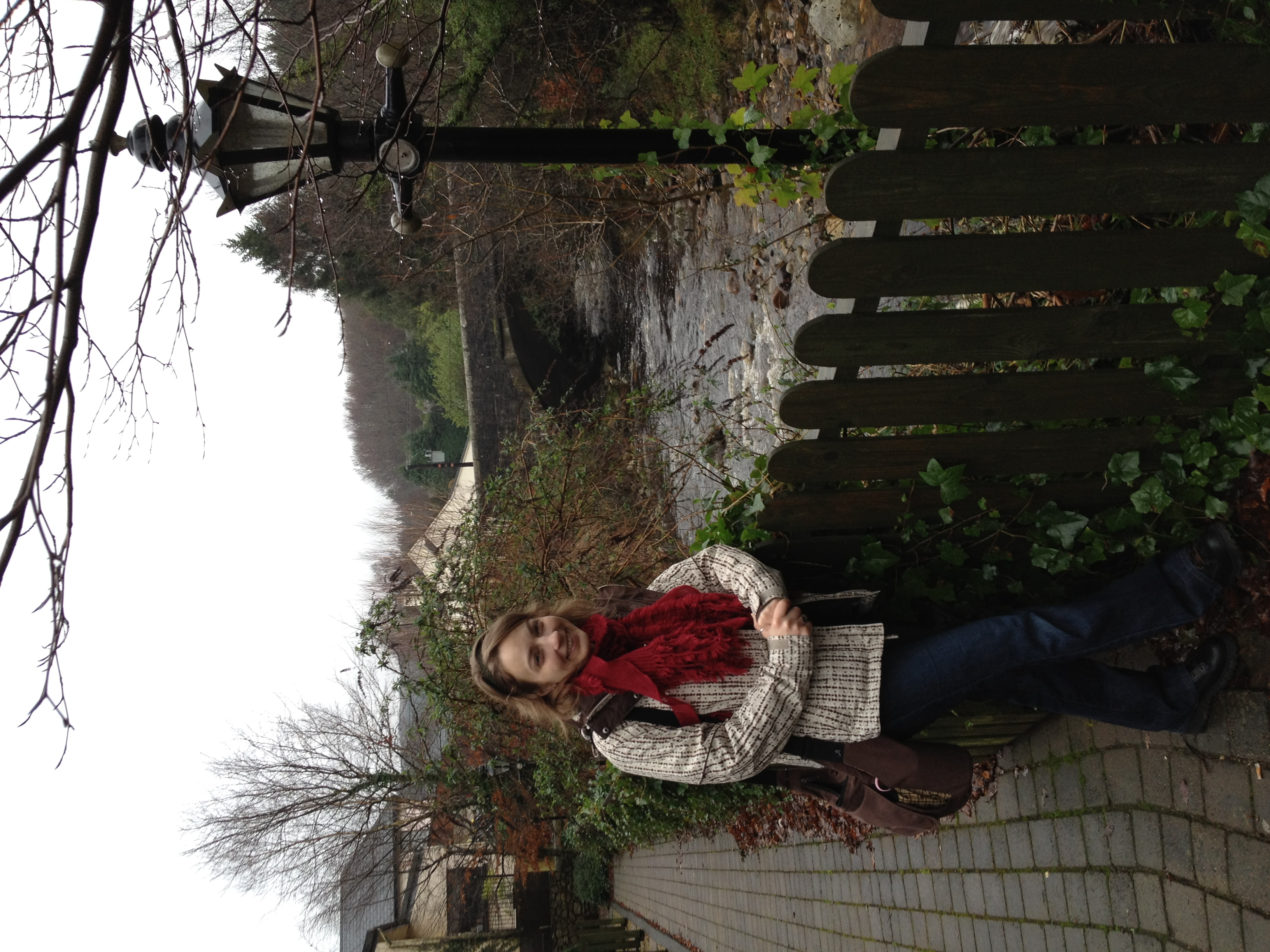 Had a fantastic day touring the Glendalough countryside outside Dublin with Caroline; here we stopped in town to refresh