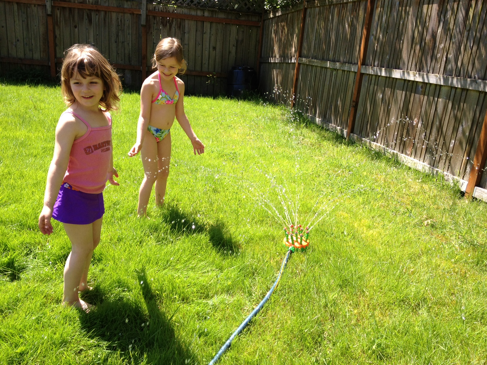 Two Portland girls make fun with some spring, not-quite-hot-yet sun